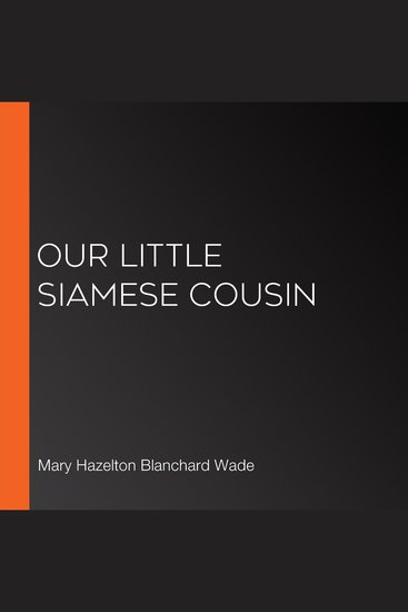 Our Little Siamese Cousin - cover