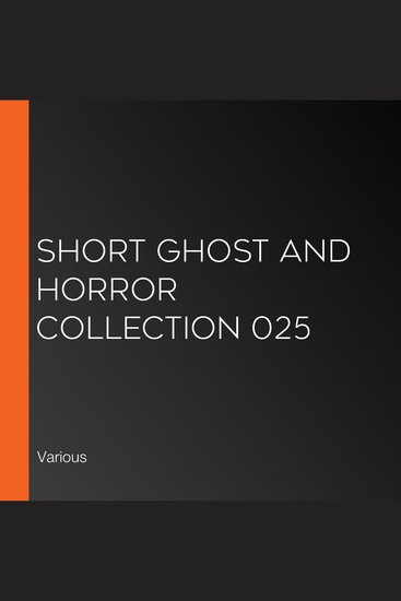 Short Ghost and Horror Collection 025 - cover