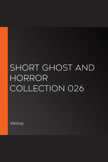 Short Ghost and Horror Collection 026 - cover