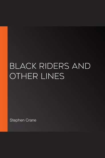 Black Riders and Other Lines - cover