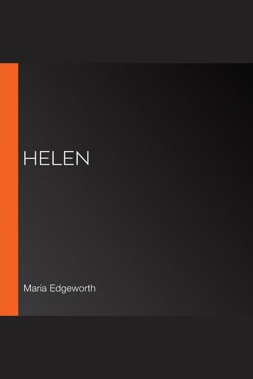 Helen - cover