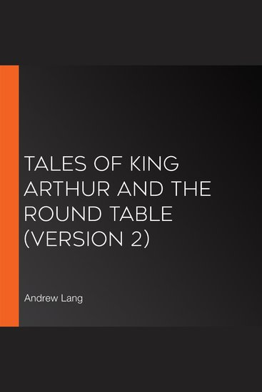 Tales of King Arthur and the Round Table (version 2) - cover