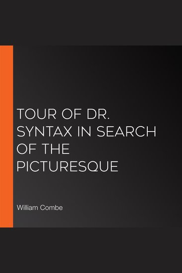 Tour of Dr Syntax in Search of the Picturesque - cover