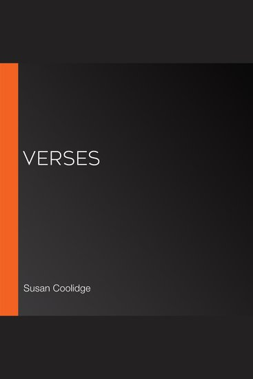 Verses - cover