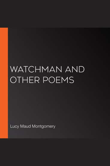 Watchman and Other Poems - cover