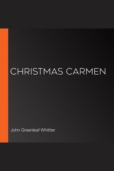 Christmas Carmen - cover