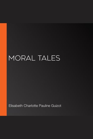 Moral Tales - cover