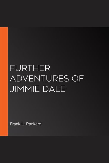 Further Adventures of Jimmie Dale - cover