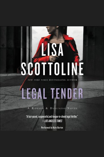 Legal Tender - A Rosato & Associates Novel - cover