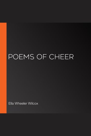 Poems of Cheer - cover