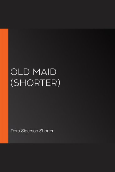 Old Maid (Shorter) - cover