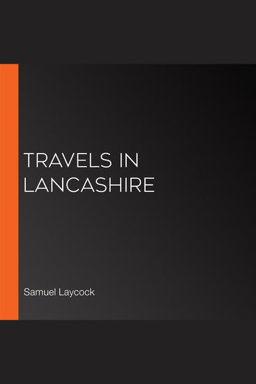 Travels in Lancashire - cover