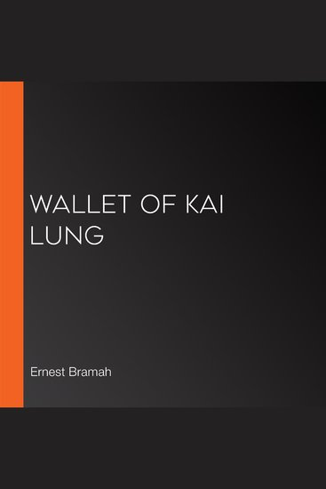 Wallet of Kai Lung - cover