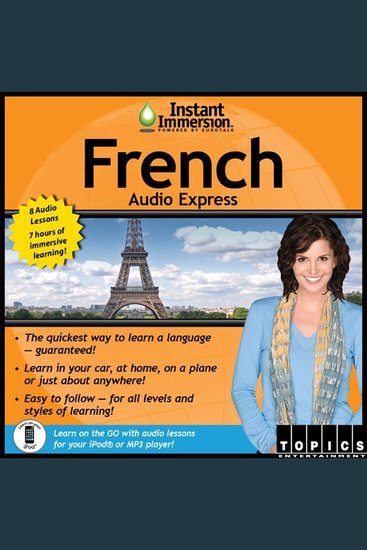 Instant Immersion French Audio Express - French - cover