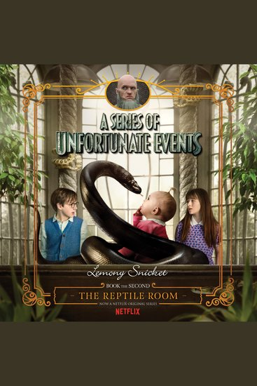 Series of Unfortunate Events #2 A: The Reptile Room - cover