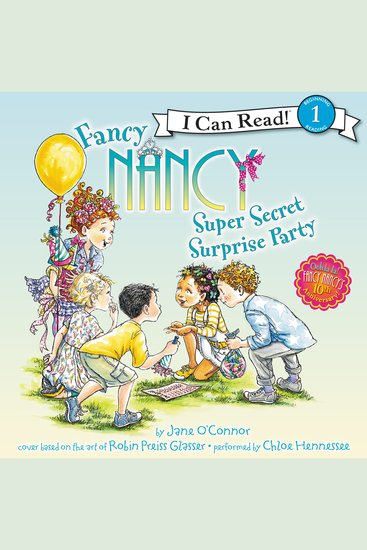 Fancy Nancy: Super Secret Surprise Party - cover