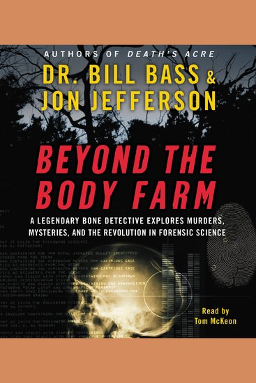 Beyond the Body Farm - cover