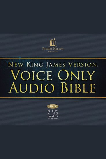 The NKJV Voice-Only Audio Bible - cover