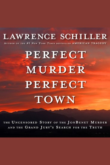 Perfect Murder Perfect Town - cover