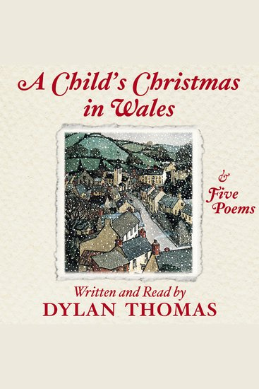 Child's Christmas In Wales A - cover