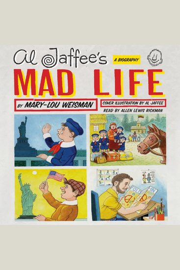 Al Jaffee's Mad Life - A Biography - cover