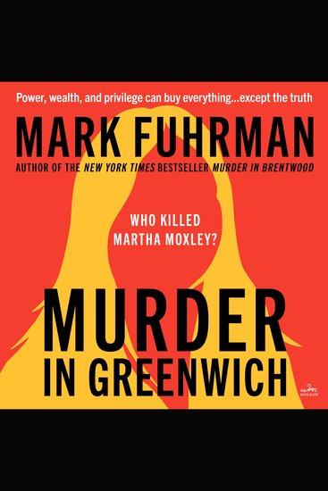Murder in Greenwich - cover