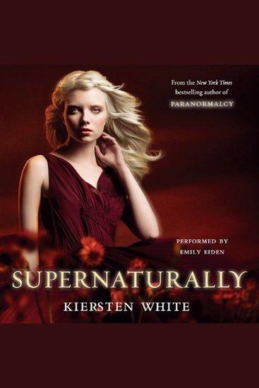 Supernaturally - cover