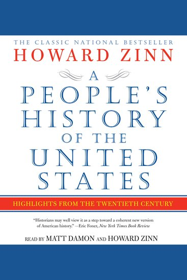 A People's History of the United States - cover