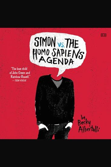Simon vs the Homo Sapiens Agenda - cover