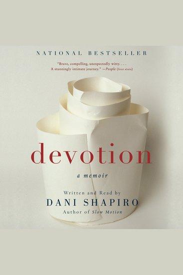 Devotion - A Memoir - cover