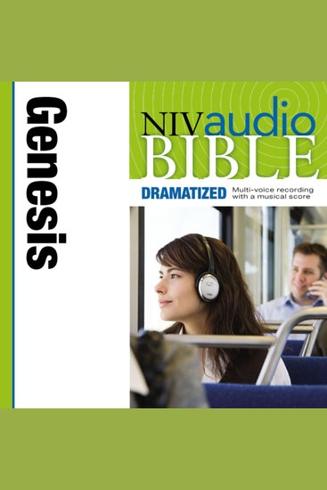 NIV Audio Bible Dramatized: Genesis - cover