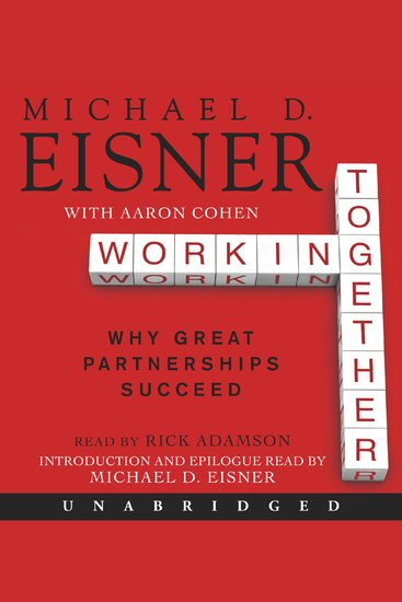 Working Together - Why Great Partnerships Succeed - cover