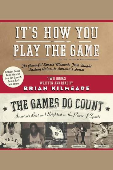 It's How You Play the Game and The Games Do Count - cover