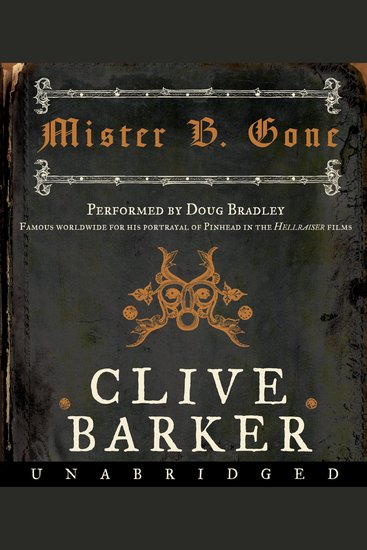 Mister B Gone - cover