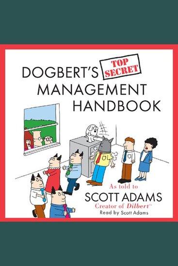 Dogbert's Top Secret Management Handbook - cover