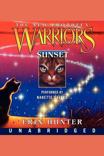 Warriors: The New Prophecy #6: Sunset - cover