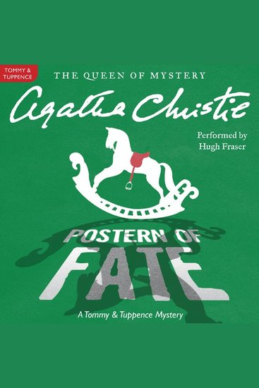 Postern of Fate - A Tommy and Tuppence Mystery - cover