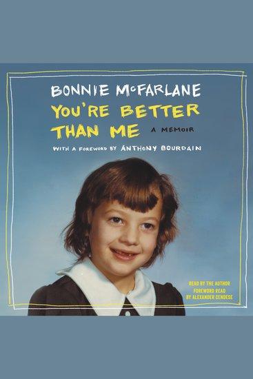 You're Better than Me - A Memoir - cover