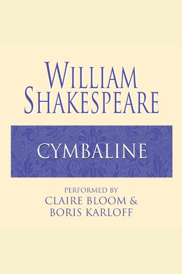 Cymbeline - cover