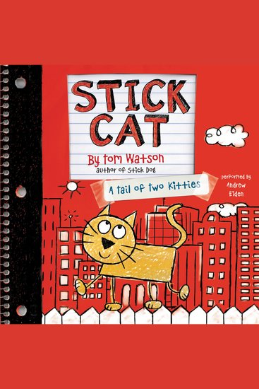 Stick Cat - A Tail of Two Kitties - cover