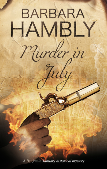 Murder in July - Historical mystery set in New Orleans - cover