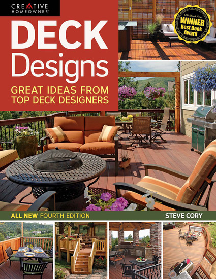 Deck Designs 4th Edition - Great Ideas from Top Deck Designers - cover