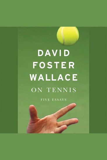 On Tennis - Five Essays - cover