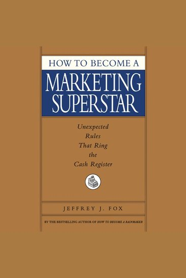 How to Become a Marketing Superstar - cover