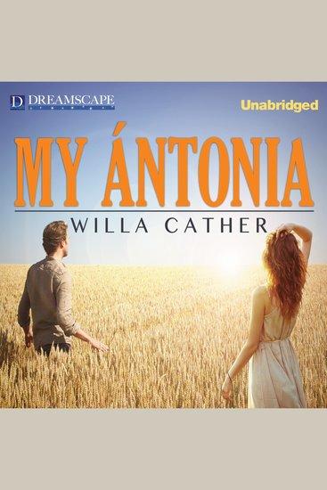 My Antonia - cover