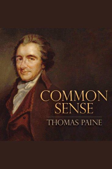 Common Sense - cover