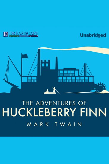 The Adventures of Huckleberry Finn - cover