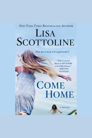 Come Home - A Novel - cover