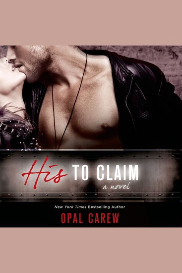 His to Claim - A Novel - cover