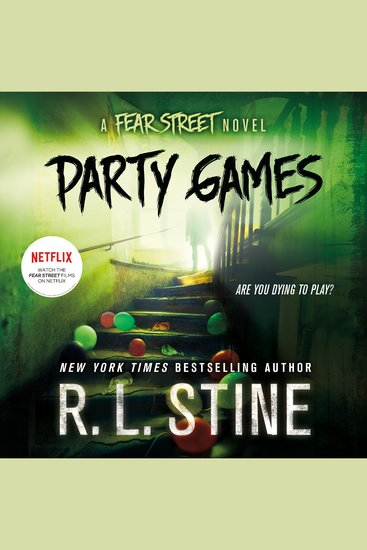 Party Games - A Fear Street Novel - cover